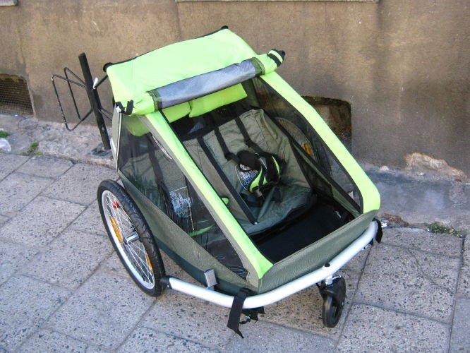 croozer kid for 2 przyczepki rowerowe croozer. Black Bedroom Furniture Sets. Home Design Ideas